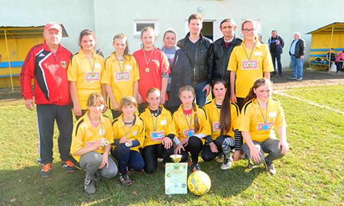 Команда Богрівки – переможець Чемпіонату району серед дівчат U-15